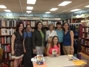 VCFA alums at Wellesley Books
